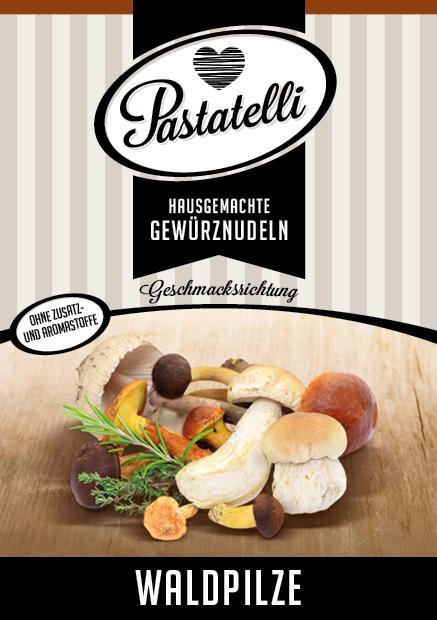 Waldpilz-Nudeln