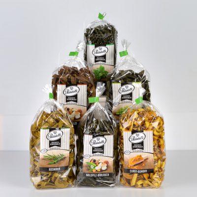 Verpackung Gewürznudeln Feinschmecker-Paket Pastatelli