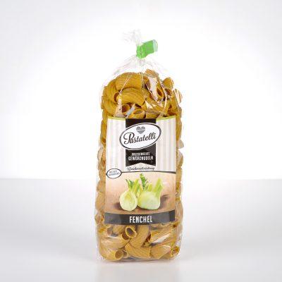 Verpackung Gewürznudeln Fenchel Pastatelli