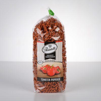 Verpackung Gewürznudeln Tomaten-Paprika Pastatelli