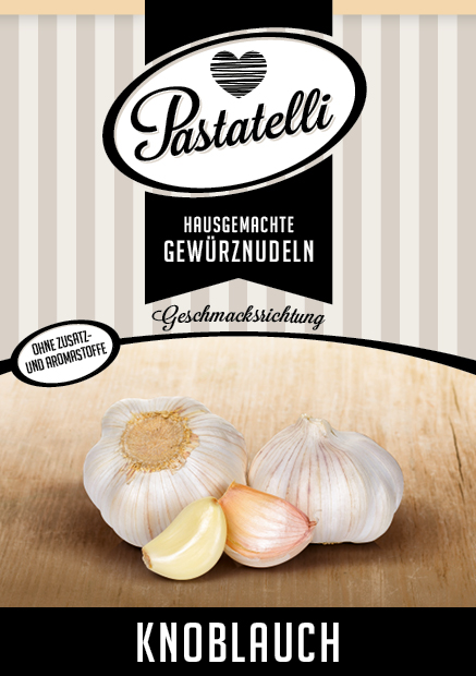 Knoblauch-Nudeln