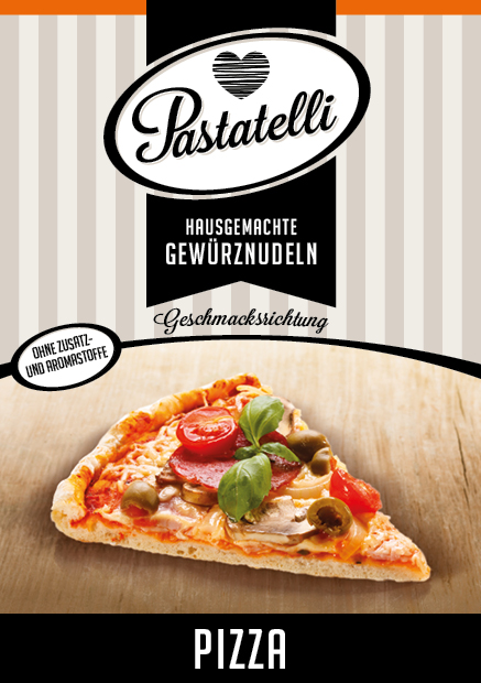 Pizza-Nudeln