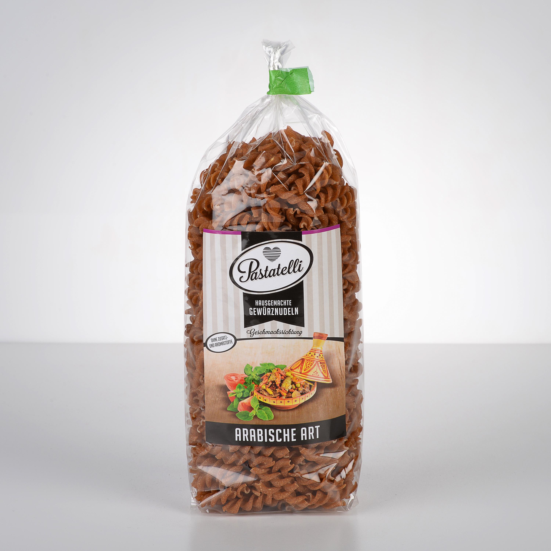 Verpackung Gewürznudeln Arabische-Art Pastatelli