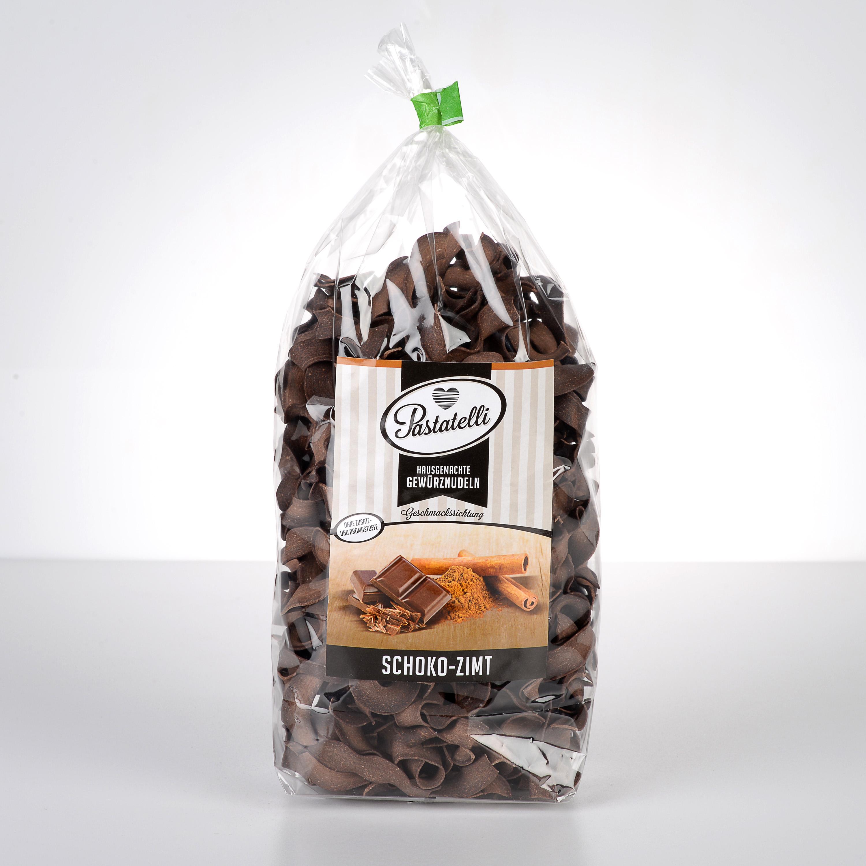 Verpackung Gewürznudeln Schokolade-Zimt Pastatelli