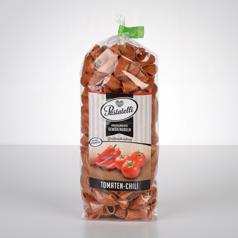 Verpackung Gewürznudeln Tomaten-Chili Pastatelli