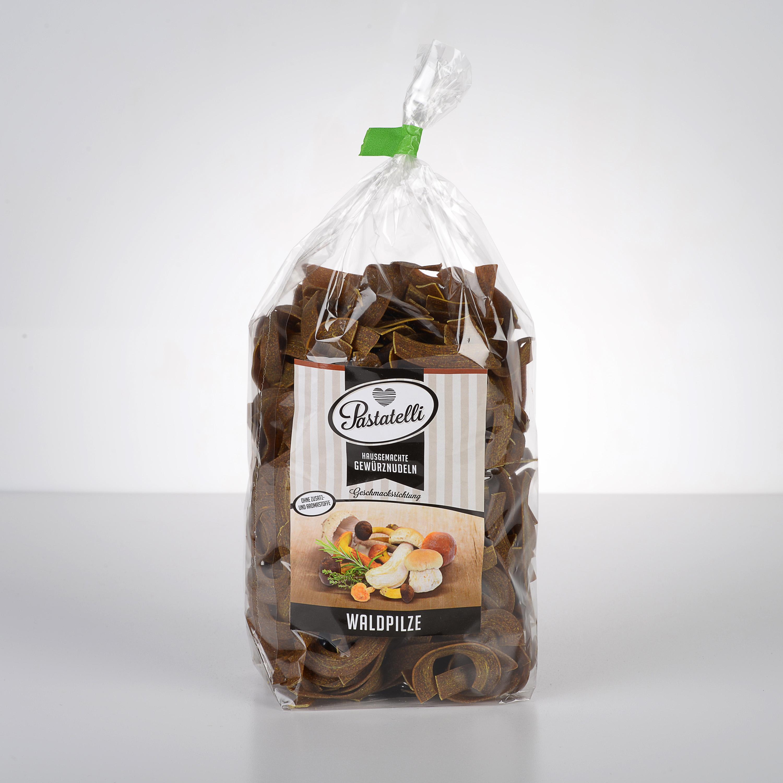 Verpackung Gewürznudeln Waldpilze Pastatelli